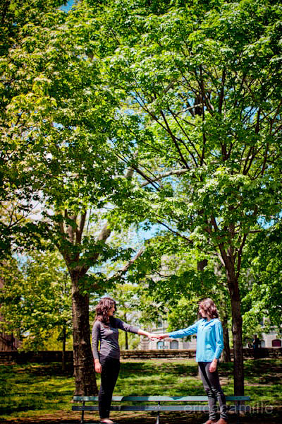 50711tiffanymereditheng042 Tiffany & Meredith Engagement Shoot | Prospect Park