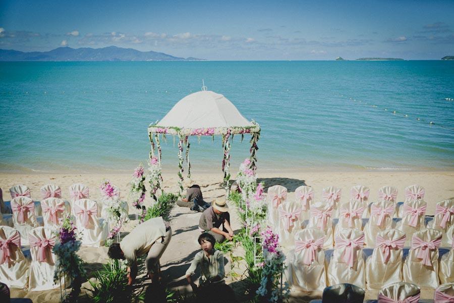 koh samui destination wedding photographer004 - beach wedding thailand