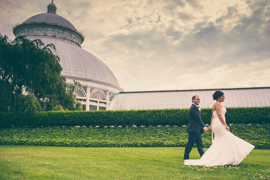 New York Botanical Garden Wedding // Zach + Alana