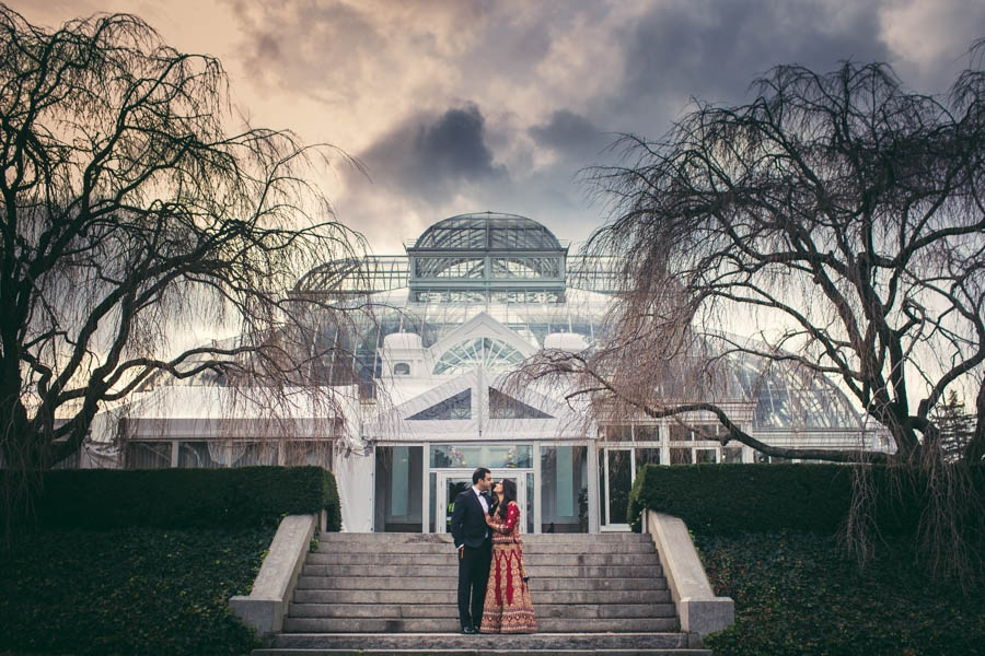 Indian Wedding At New York Botanical Garden